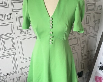 60,s mini scooter dress