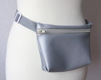 Belt bag silver