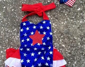 Patriotic Romper