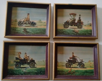 Vintage Cars    Framed Prints
