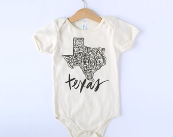 California Organic Baby Bodysuit   Take Home Outfit   Baby Shower Gift   Cute Baby Clothes   Gift for Baby   Baby Girl Gift   Baby Boy Gift