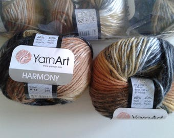 YarnArt Harmony Wool Acrylic Yarn