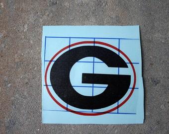 Georgia Decal/University of Georgia Decal/Georgia Car Decal/Georgia Cup Decal/Georgia Bulldogs/Georgia Football