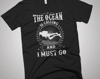 My Ocean Scuba Diving Boat Is Calling And I Must Go T-Shirt