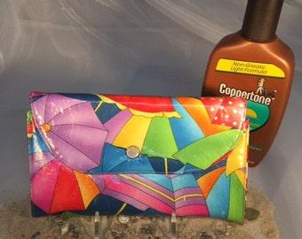 Beach Umbrella Fun Wallet