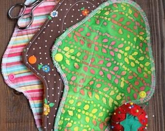 "Sewing Pattern: THE MUSHROOM 10"" Regular Cloth Menstrual Pad"