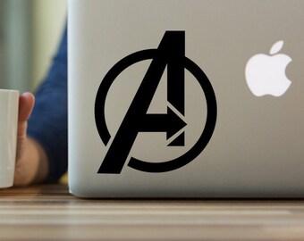 Avengers Decal, Avengers Logo Decal, Marvel Avengers Vinyl Decal, The Avengers Decal, yeti tumbler decal