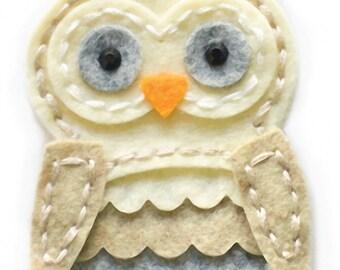 Memory Box Plush Wise Owl Craft Die