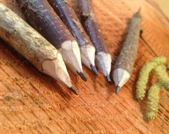 Hazel Wood Graphite Pencils
