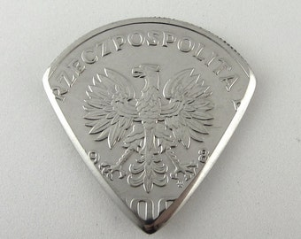 Coin Guitar Pick - Poland 100 Złotych Wincenty Witos