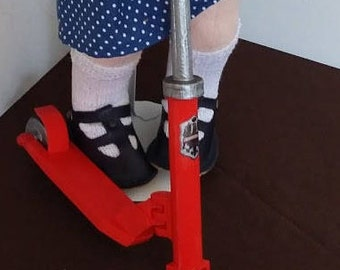 3D printed Scooter for 18 inch dolls