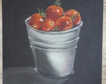 Still life for kitchen, soft pastel