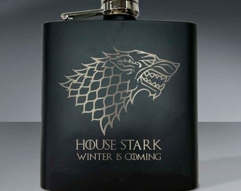 Game of Thrones - House Stark 6oz Flask