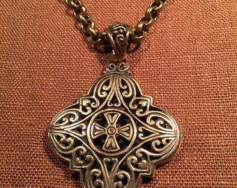 Old World Pendant Necklace