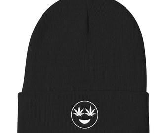 Weed Hat - Weed Beanies - 420 Hat - Stoner Hat - Stoner Beanie - Cannabis Lover - Marijuana - Weed Lover - Weed Gifts - Cali - 420