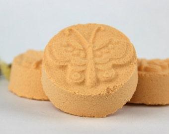 Good Morning Shower Steamer - Citrus Aromatherapy - Shower Bomb - shower bomb, shower melt, shower fizzy, orange, lime, tangerine, thyme