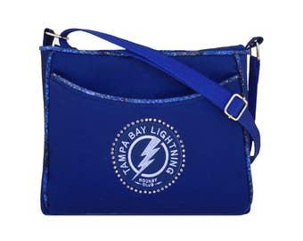 Tampa Bay Lightning Purse Bling Handbag
