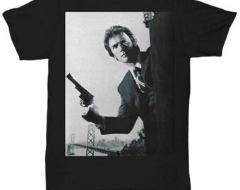 Clint Eastwood - Dirty Harry    shirt Tee T-shirt  S - 5XL 9 Colours