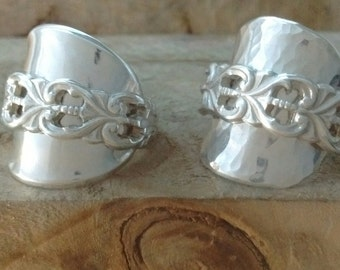 Sterling Silver Spoon Ring - Any Size
