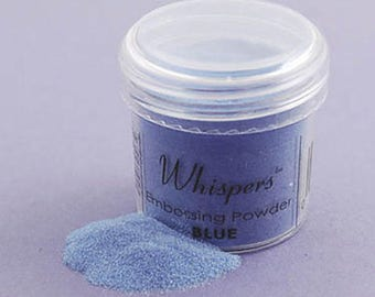 Whispers Baby Blue Embossing Powder, 1 oz, Non-toxic, Scrapbooking