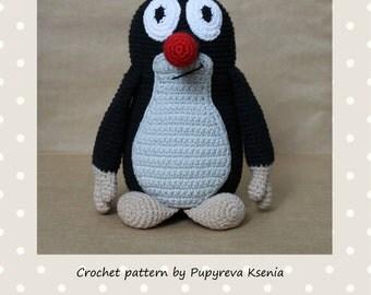 Mole - crochet pattern