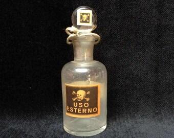 Antique Poison Bottle Chemistry