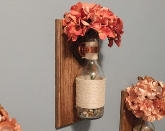 Handmade Wall Flower Holder