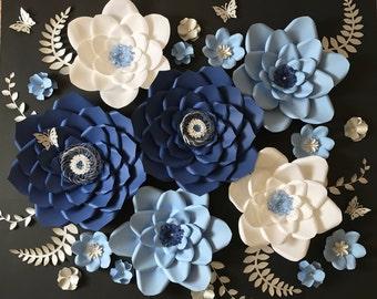 Paper flower backdrop / Backdrop / Wedding Backdrop / Paper flower wall / Wall decor