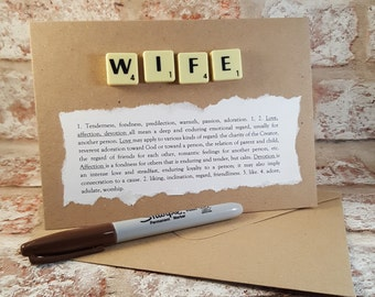 Gift for wife, Wife gift, Wife, Wifey, Wife gifts, Gifts for wife, Gift ideas for wife, Husband and wife, Wife card, Wife anniversary,