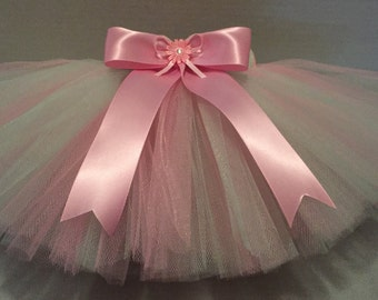 PINK TUTU, Mint and Pink Tutu, Baby Tutu, Infant Tutu, Tutu for Babies, Newborn Tutu, Tutu and Hairbow, Mint Tutu, Pink Tutu