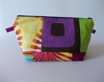 Cosmetic Bag Patchwork