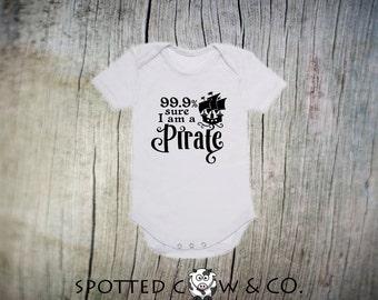 Pirate Onesie - Im A Pirate - Pirate - Ahoy Matey - Trendy Onesie - Pirate Ship - Going To Be A Pirate - I Am A Pirate - Pirate Bodysuit