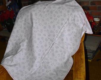 Lamb Pattern Baby Blanket