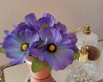 Pretty Purple Flower arrangement