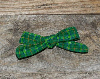 Hart Bow - St. Paddy Plaid
