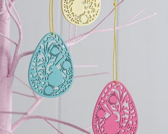 Easter Decorations - Bright Easter Egg Decorations