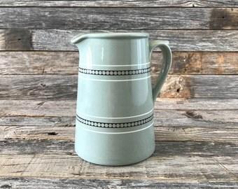 Vintage Dudson Stoneware Milk Jug, Dudson Stoneware Creamer