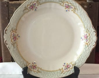 Vintage Winterling Bavaria Handled Serving Platter / Bowl / Jubilaum 1903 - 1945