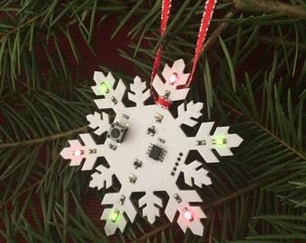 Snowflake Ornament - Printed Circuit Board (PCB)