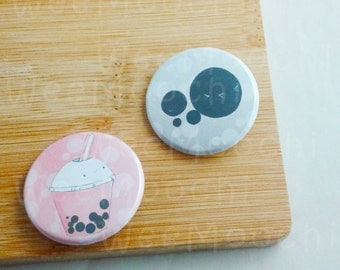 Bubble Tea Pins- Bubble Tea Pin Set-Taiwanese-Tapioca-Cute-Kawaii-Food-Drink-novelty gift,Beverage-Funny-Sweet-Gift