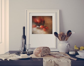 Painterly Kitchen Printable Art, Tomatoes Photography, Printable Home Art, Affordable Home Gift, Gift For Foodie, Farmhouse Decor