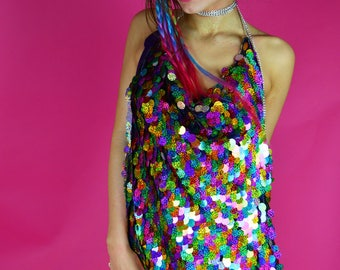 Kendall Rainbow Dress