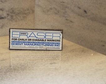 Vintage Felt Chalkboard Easers