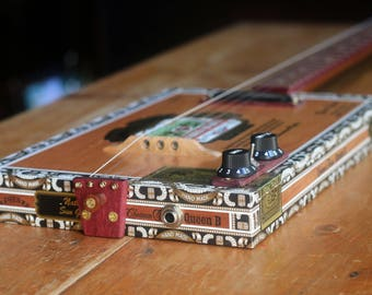 Queen B Cigar Box Electric Guitar