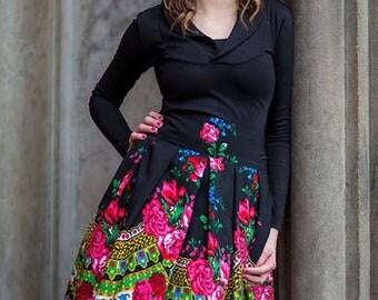 Annette Slavic Vintage Inspired Folk Skirt