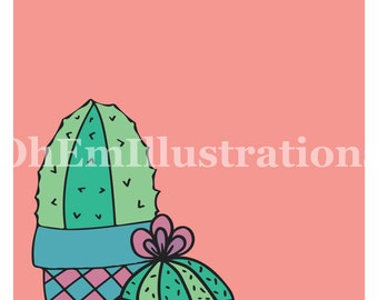 Potted Plant Print