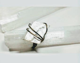 Optical Calcite Wrap Ring