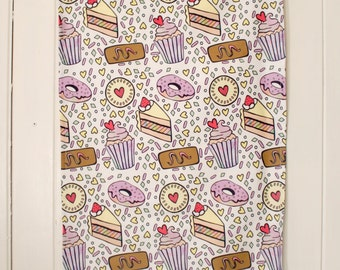 Tea Time (Tea Towel) by So-Very-Cassie