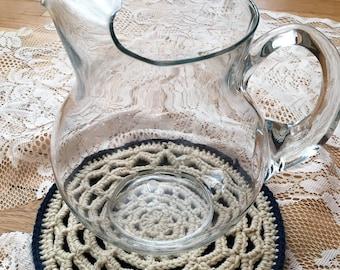 Custom Lace Mandala Trivet or Hot Pad, set of 1