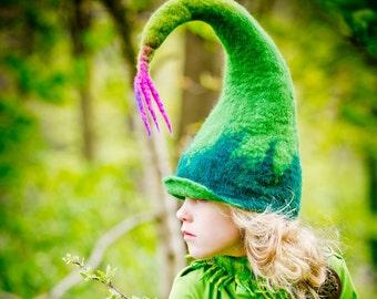 hat fairy / elf hat / gnome hat